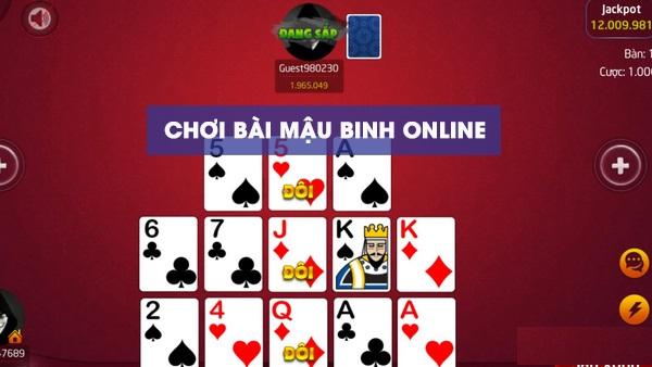 Cổng game Man Club hướng cách chơi game đánh bài mậu binh online